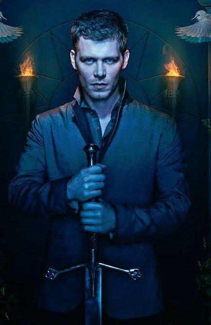 La famille Mikaelson : Klaus , Elijah et Rebekah