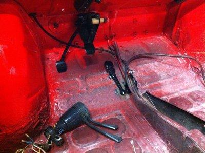 Juillet 2011 - Remontage pédalier + cables