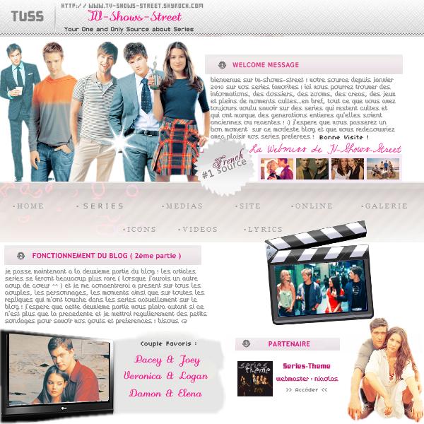 --Article 1--    Bienvenue sur TV-Shows-Street ♥