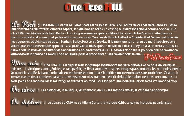 --Article 6-- Zoom sur One Tree Hill ♥  / Ma note : 18 / 20 / Merci à ma miss the same  pour mon 2000ème com's <3
