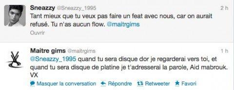 Maître Gims et Adama se font piéger sur Twitter par un faux Sneazzy (NEWS)