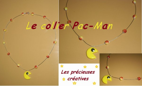 Collier Pac-Man