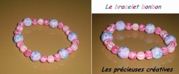 Le bracelet bonbon
