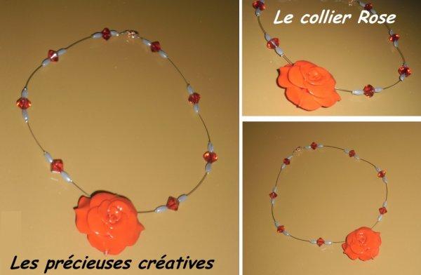 Le collier Rose