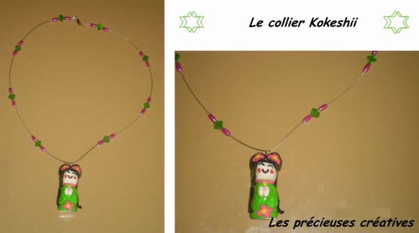 Le collier Kokeshii