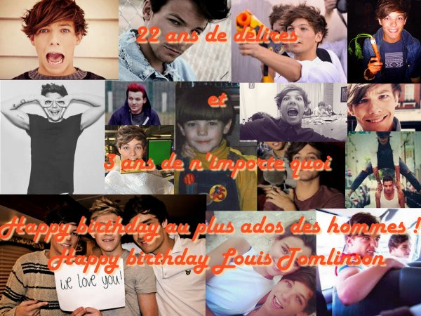 HAPPY BIRTHDAY LOUIS TOMLINSON !!!!!!!!!!!!!!!!!!!