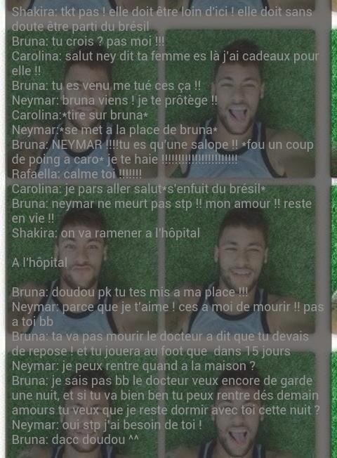 Neymar neymar neymar ...