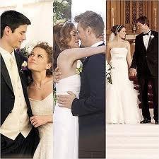 Les 3 mariages de la série.