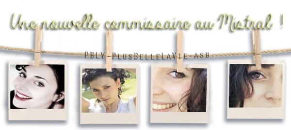 xxxxxxLa nouvelle comissaire du Mistral : Constance Dorléac.