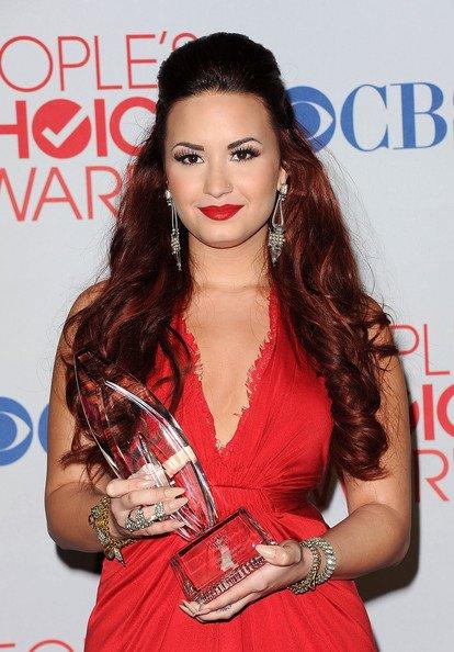 Le maquillage de Demi Lovato