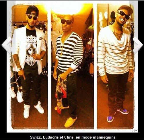 Chris Brown, Ludacris, Swizz Beatz : les rappeurs se réunissent à Cannes !