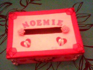 urne de bapteme que j ai fait pour ma niece