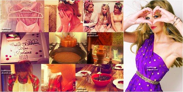 """Instagram : En attendant que Taylor pointe le bout de son nez , voici quelques photos personnelles,que j'ame beaucoup ? Vos Avis Top ou Bof ? + Taylor à chantée au """"Wal-Mart Shareholder """""""