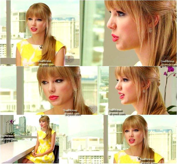 """♦ 8 Juillet 2012 :  Taylor ' été à la """" IHeart Radio Music """"  à Las Vegas ! Que pensez-vous de sa tenue ?Top   ou Flop ?"""