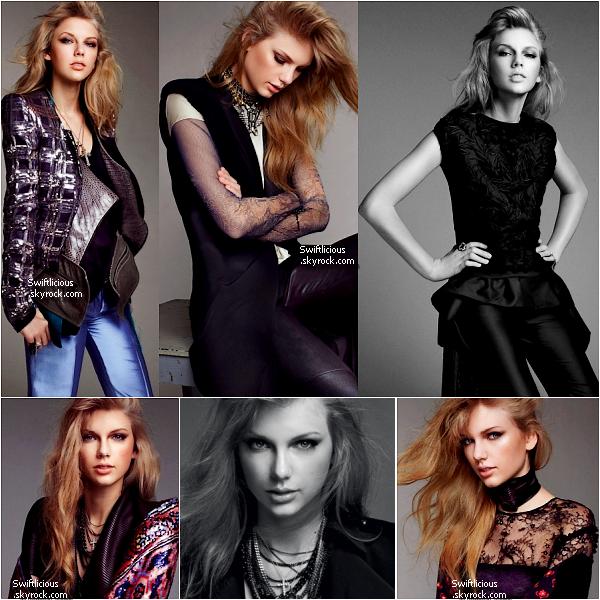 """♦ Taylor à posée début Mars pour le magazine australien """" Bazaar ! Que pensez-vous de ce photoshoot ?"""