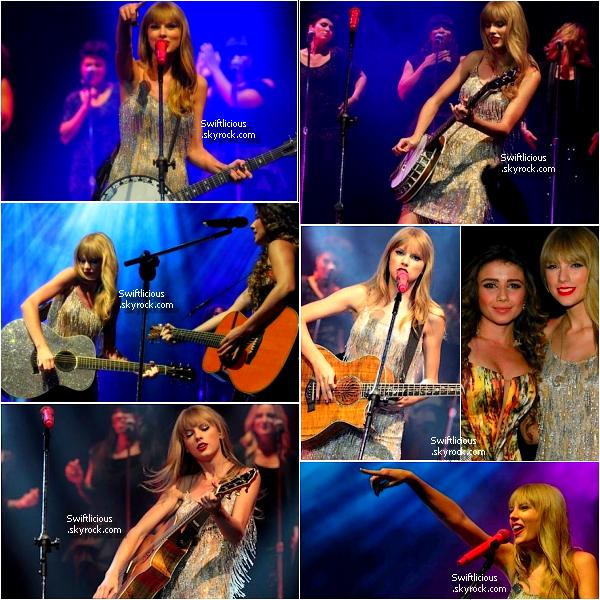 Concert :  Le 15 Septembre ,notre belle Taylor était à Rio De Janeiro ou elle s'est lâchée est à chantée en exclusivité au Citibank Hall  !