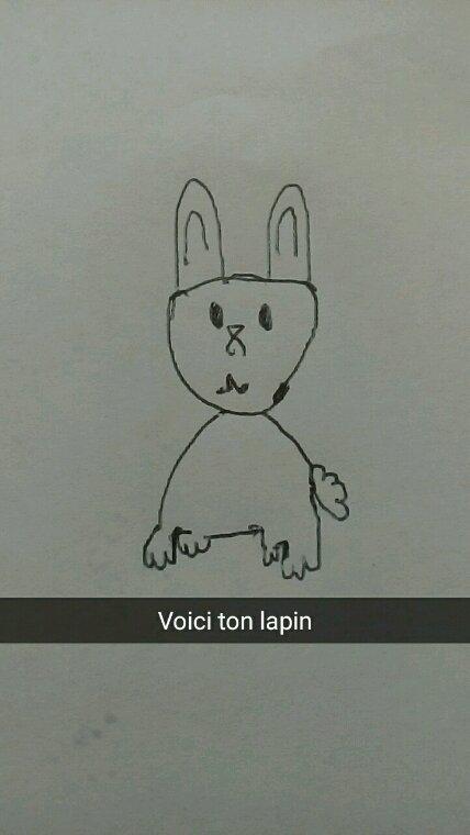 Lapin qui ressemble même pas à un lapins