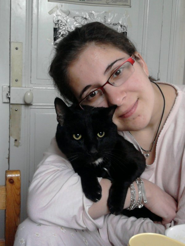 Mon bébé Black-Jack et moi