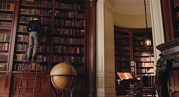 Les différents lieux de la série : la demeure Baudelaire