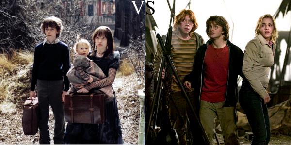 Les Désastreuses Aventures Des Orphelins Baudelaire   VS   Harry Potter
