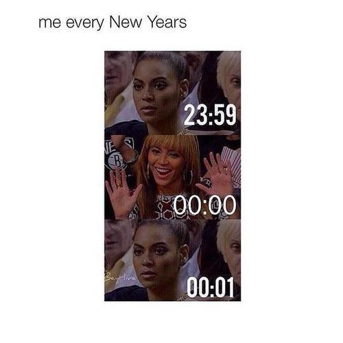 Moi à chaque nouvelle année :