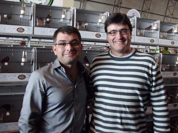 En el mundial con mi amigo Pedro Eguizabal