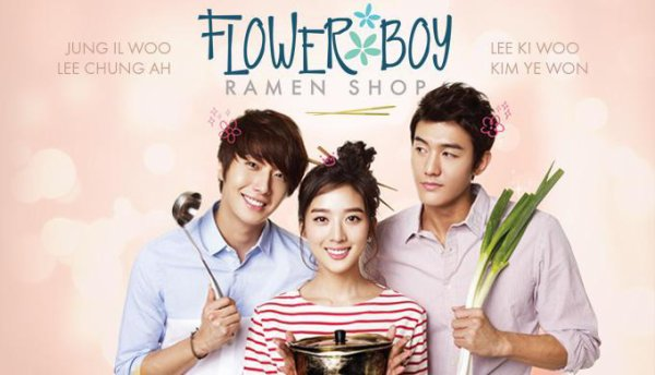 flower boy ramyun shop drama coréen