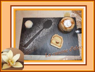 Crème de spéculoos à la banane caramélisées et meringue