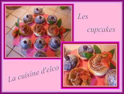 Les cupcakes d'elco