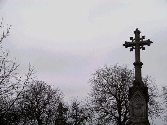 Photographie : Cimetière d'Anoux (13/11/10)