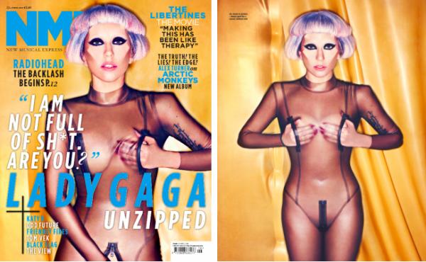 ₪ Lady Gaga fera la couverture du prochain numéro du magazine britannique NME. ₪