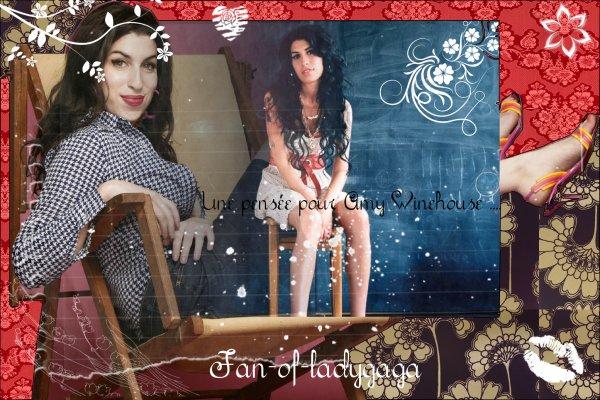 【Décès d'Amy Winehouse (1983-2011)】