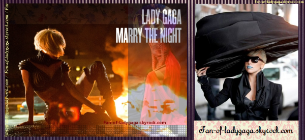 MARRY THE NIGHT →  LE CLIP (autobiographique)
