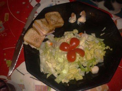 Petites salade d'après fêtes :)