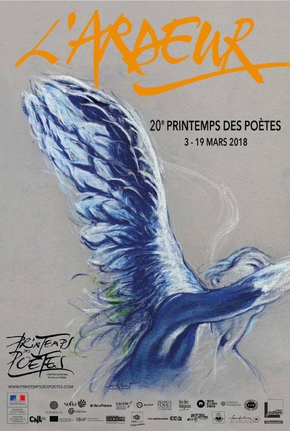 Les voix de l'ardeur poétique - Printemps des poètes 2018