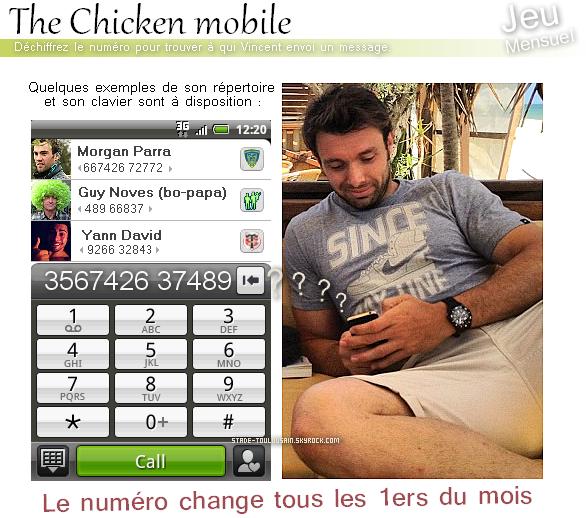 Les textos en folies de Chicken !