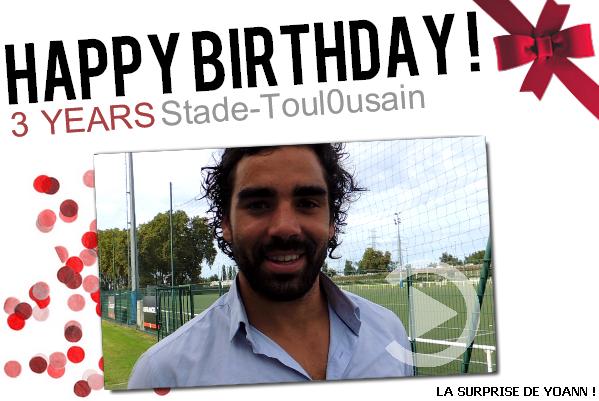 Yoann Huget souhaite un Joyeux anniversaire au blog !