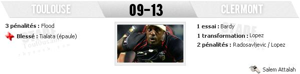 TOP 14 - 5ème Journée : Stade Toulousain - ASM