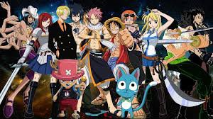 one peice & fairy tail