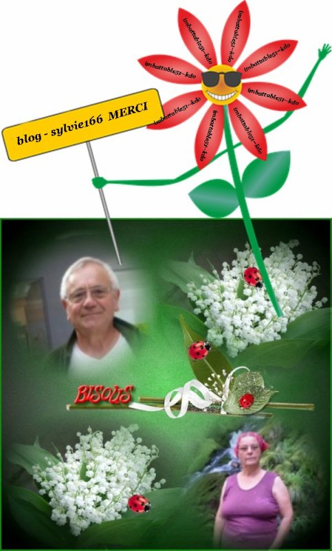 Blog - orchideerose .. blog - josy41 .. blog - sylvie166 .. vous méritez un grand MERCI pour c'est cadeaux . Je suis vraiment heureux d'avoir des amis tels que vous . Je suis comblée ...