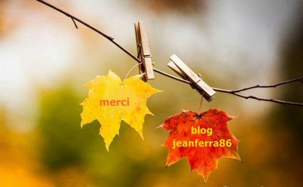 Blog - jeanferra86  ... Vous méritez un grand MERCI pour c'est beau cadeau . Je suis vraiment heureux d'avoir des amis tels que vous . Je suis comblée ...