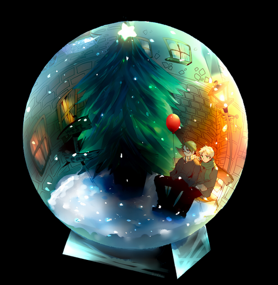 Cadeau de Noël (en retard) et de la nouvelle année (en avance) n_n