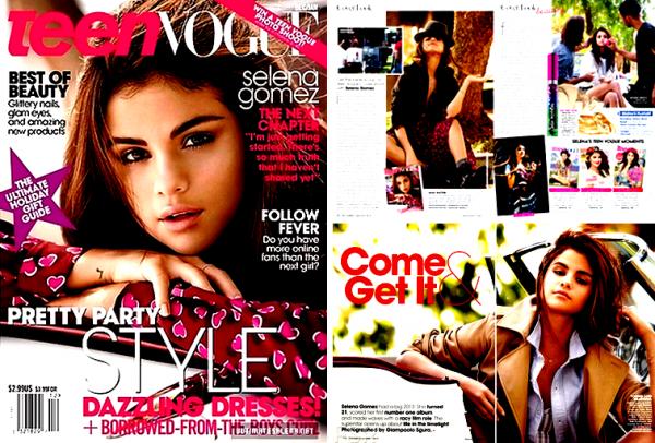 Teen Vogue, december 2013