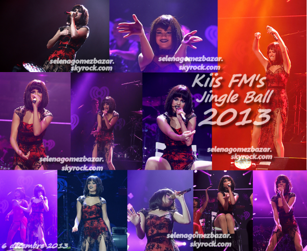 *6 décembre 2013 : Kiis FM's Jingle Ball 2013, LA.