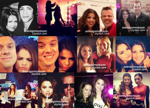 Quelques photos personnelles de Selena.