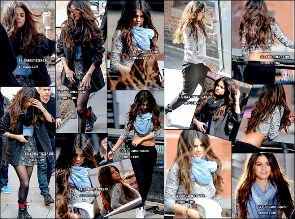 #2*11/03/14. Selena à New-York pour les shoot. + Une photo personnel et Sel avec des fans. Top ou Flop ?