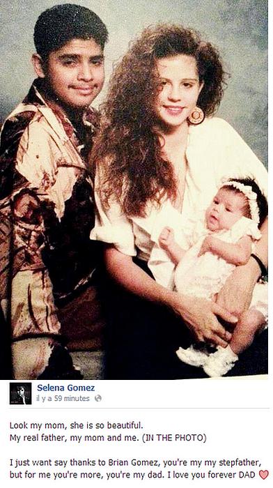 Selena à poster cette photo sur les réseaux sociaux. •Trop Mignon•