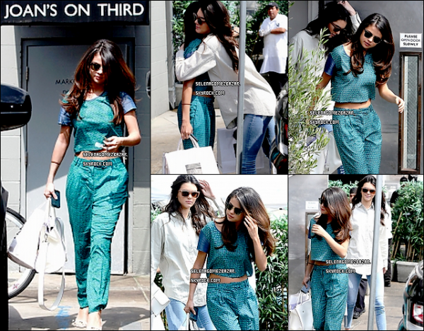 """SURPRISE ! *21/03/14. Selena à été vue quittant le salon de beauté """"Nine Zero One"""" Elle a été vue aussi déjeunant avec Kendall Jenner, à Los Angeles + Photo poster par Selly. Top ou Flop ?"""