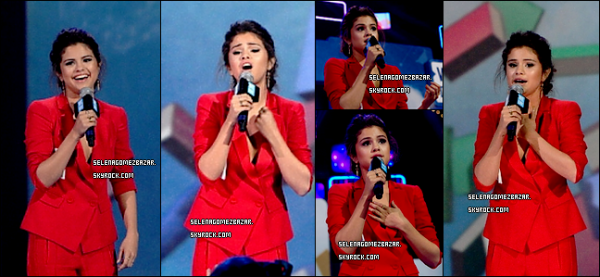 *26/03/14. Selena était au We day California. Top ou Flop ?