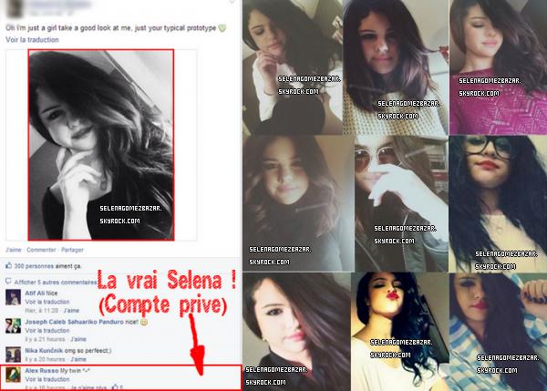 Ce n'es pas Selena ! Vous y croyez ? *.*